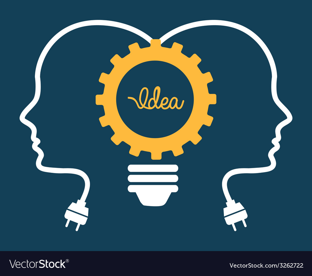 Idea design vector | Price: 1 Credit (USD $1)