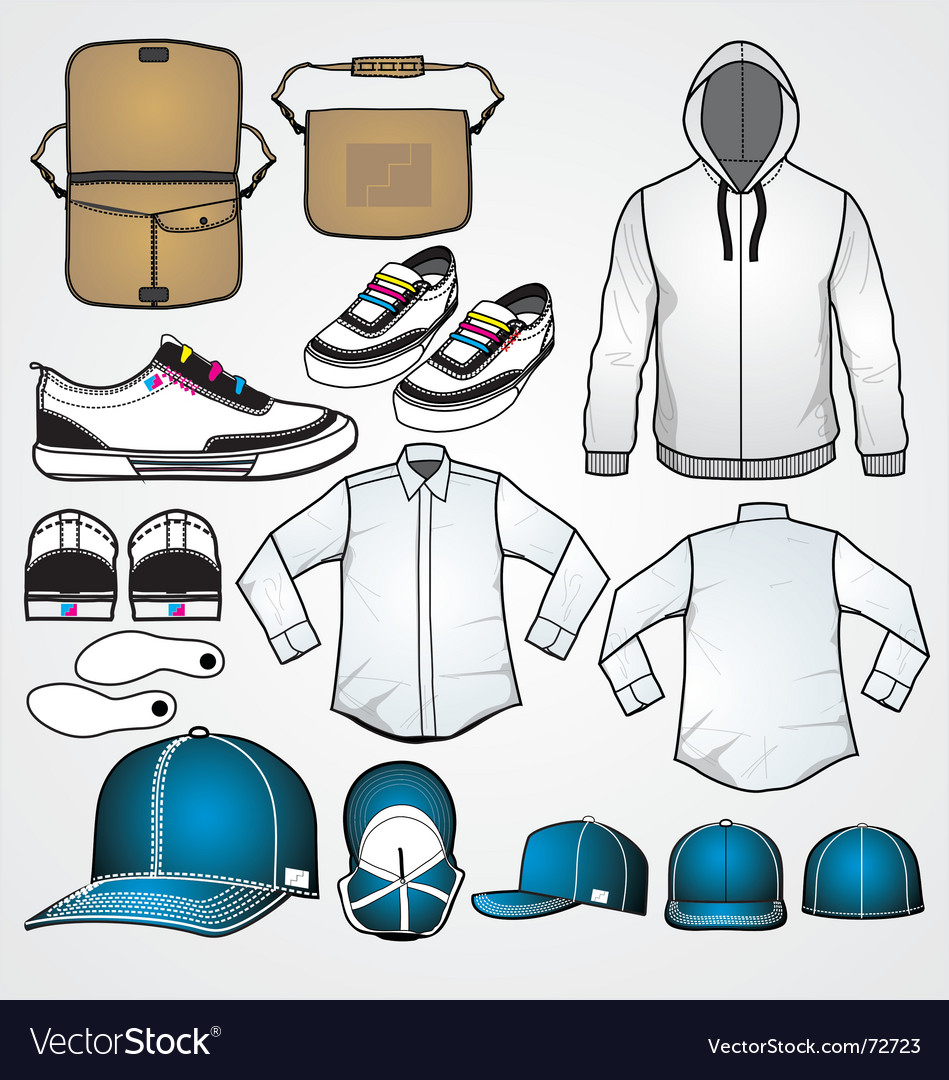Fashion clothing templates vector | Price: 3 Credit (USD $3)