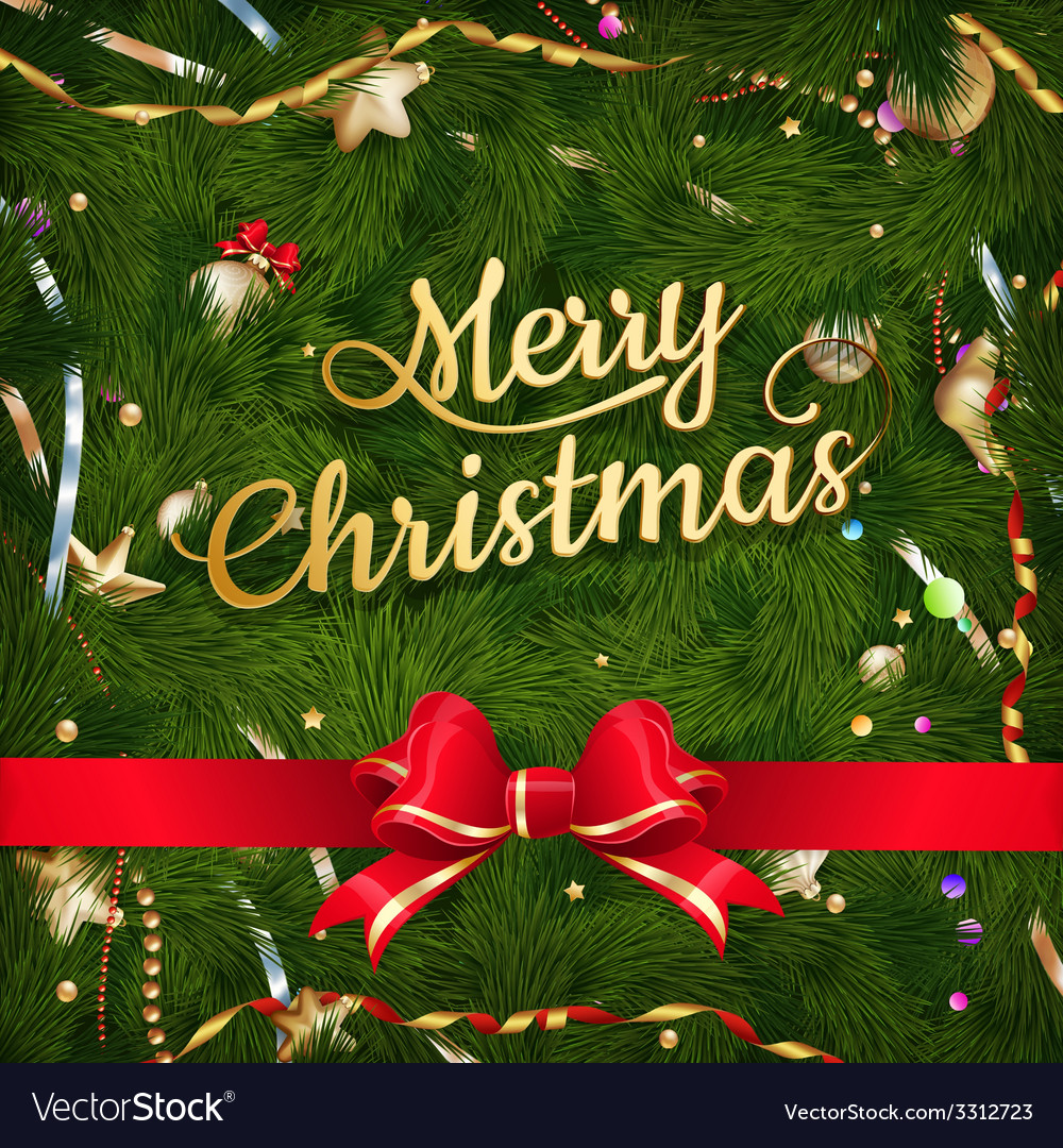 Golden christmas greeting eps 10 vector | Price: 3 Credit (USD $3)