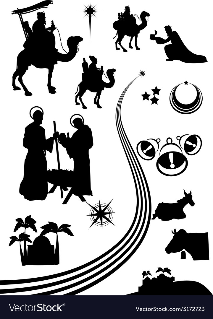 Nativity icon 14 vector | Price: 1 Credit (USD $1)