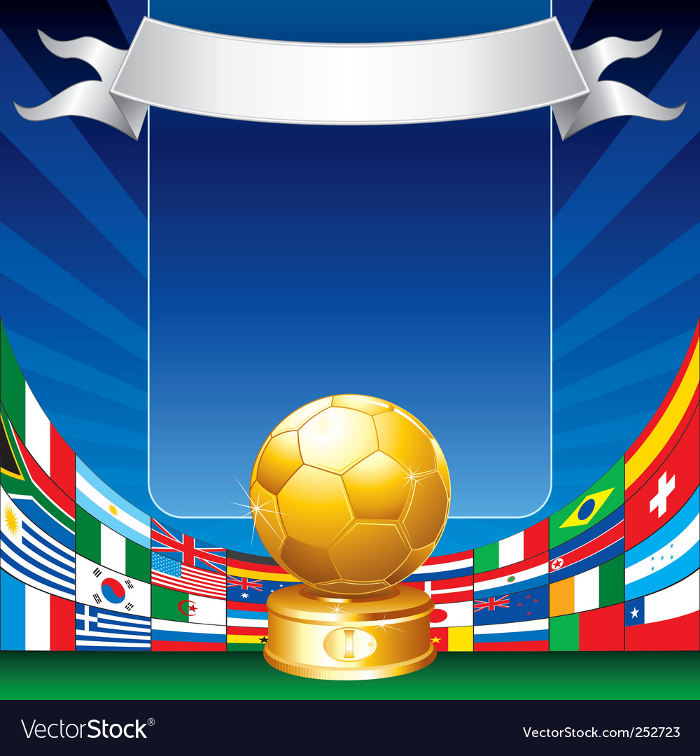 Soccer world cup vector | Price: 3 Credit (USD $3)