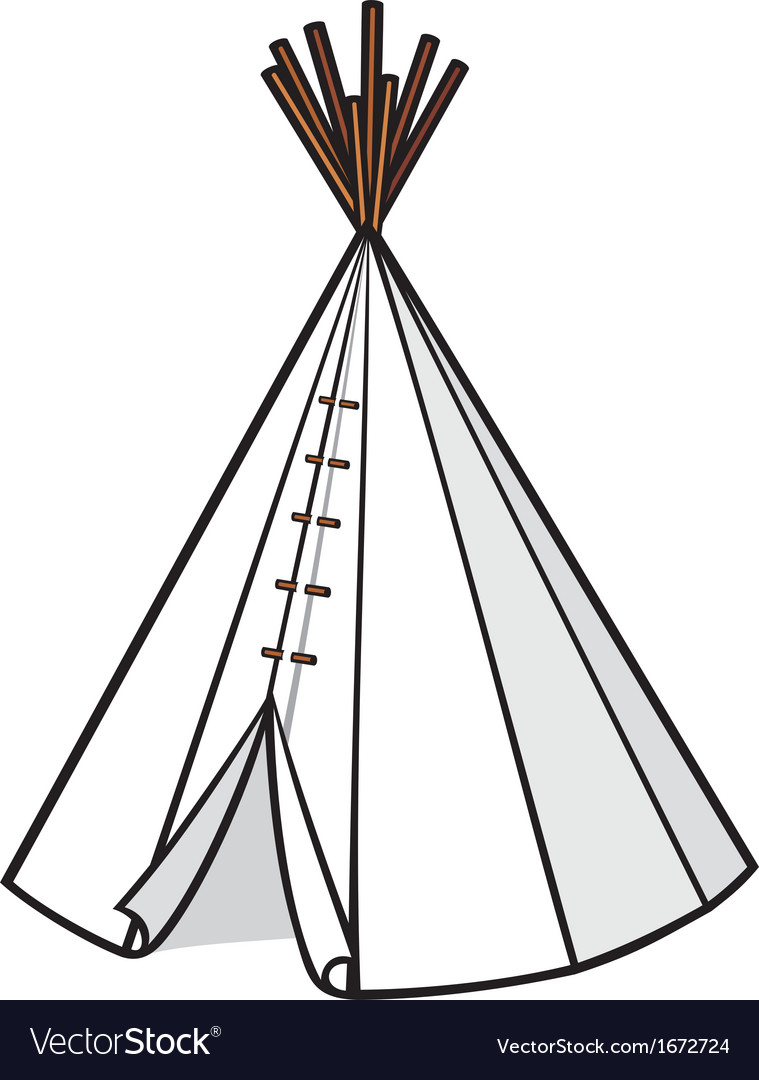A wigwam vector | Price: 1 Credit (USD $1)