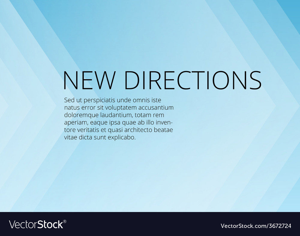 Abstract blue arrows background with copyspace vector | Price: 1 Credit (USD $1)