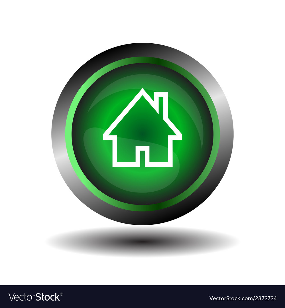 Home symbol icon isolated vector | Price: 1 Credit (USD $1)