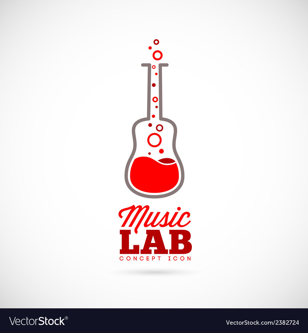 Music laboratory concept icon vector | Price: 1 Credit (USD $1)