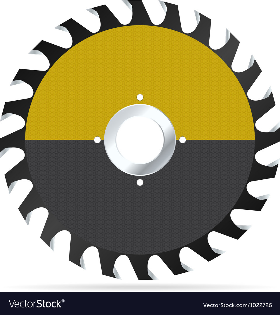 Circular saw blade vector | Price: 3 Credit (USD $3)