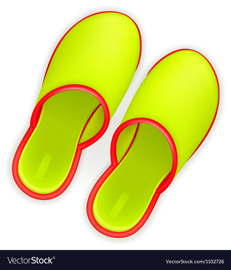 Slippers vector   Price: 1 Credit (USD $1)