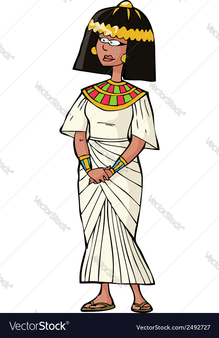 Ancient egyptian woman vector | Price: 1 Credit (USD $1)