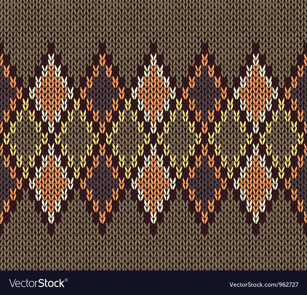 Color male knitted pattern vector | Price: 1 Credit (USD $1)