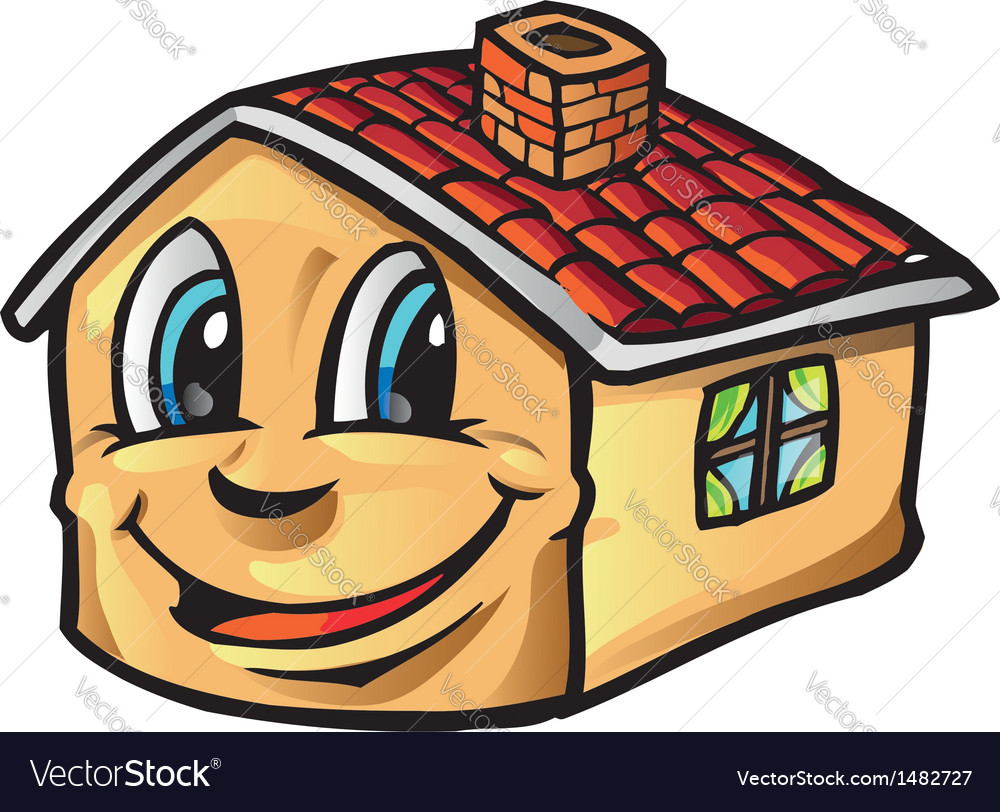 House cartoon vector | Price: 1 Credit (USD $1)