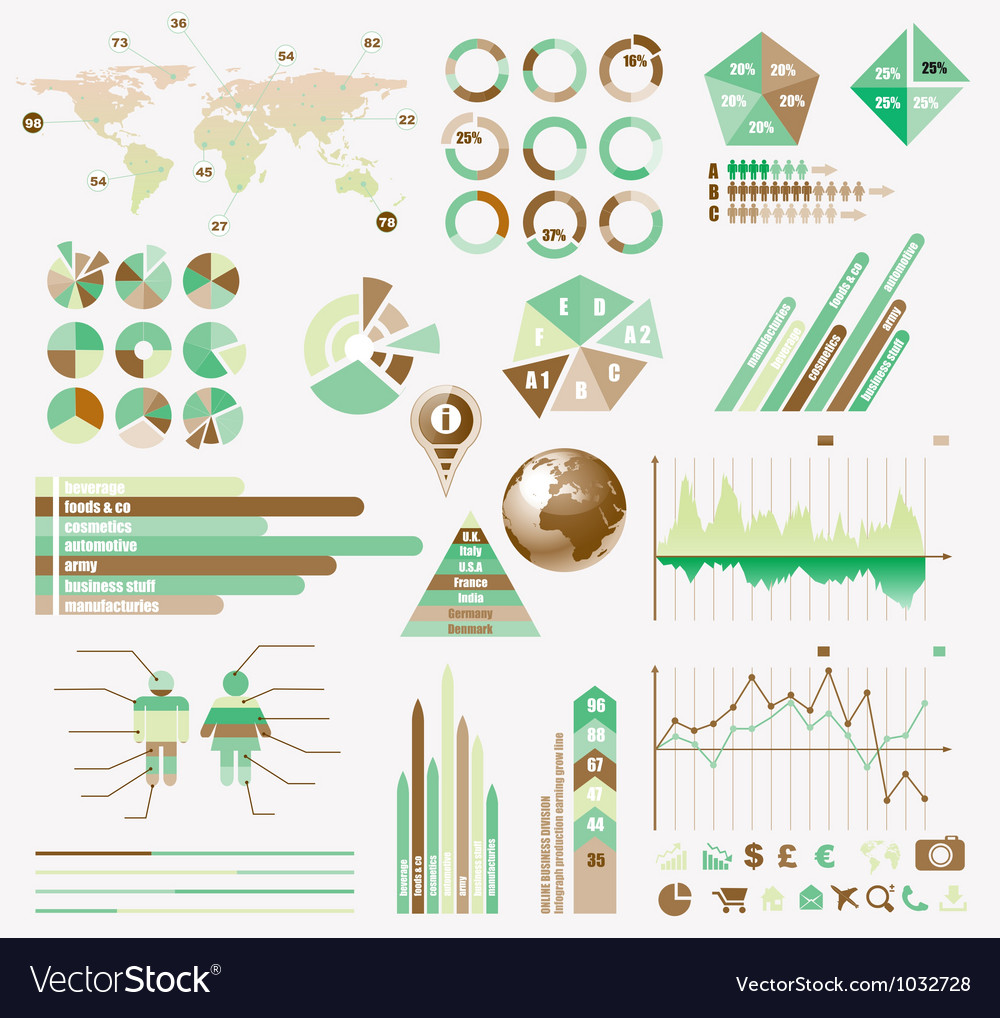 Infographics page vector | Price: 1 Credit (USD $1)