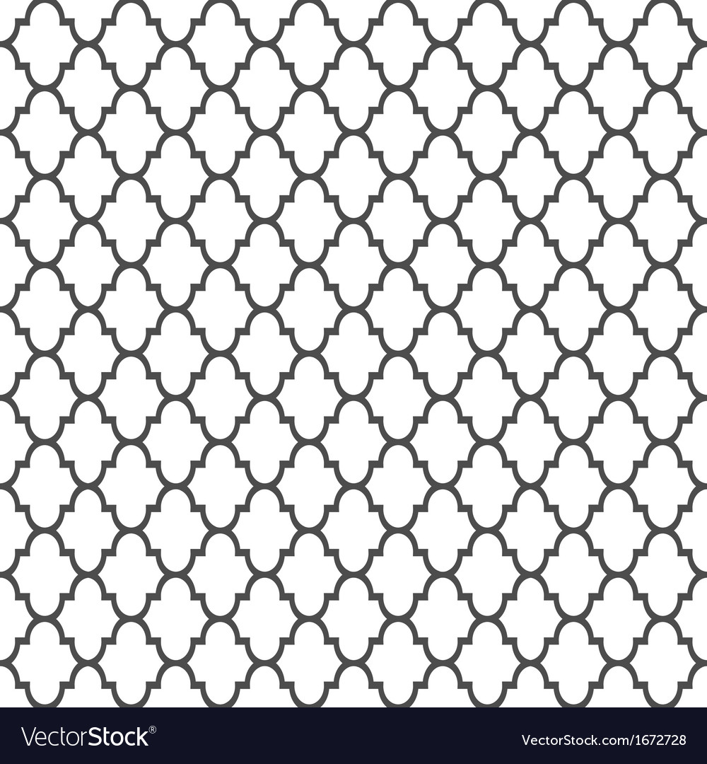 Islamic style seamless pattern vector | Price: 1 Credit (USD $1)