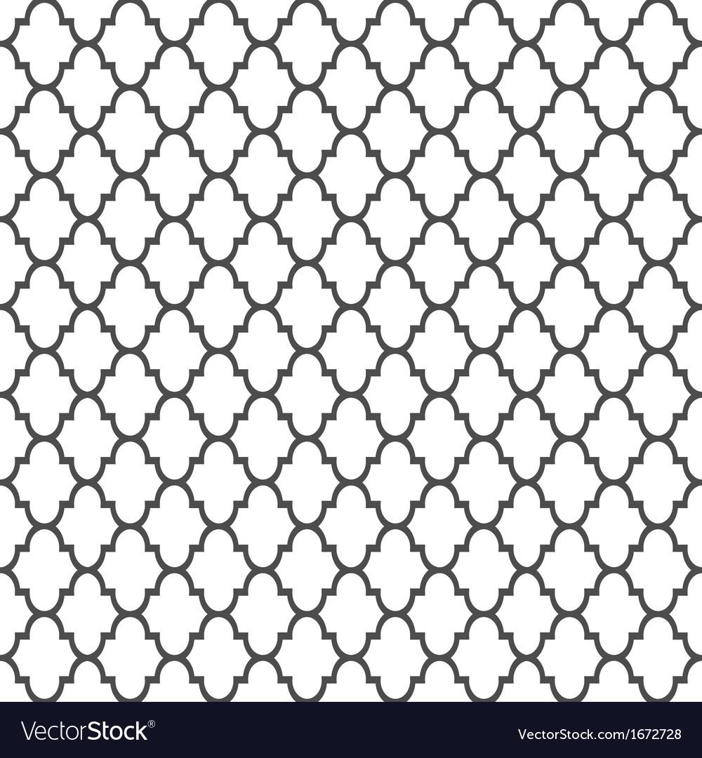 Islamic style seamless pattern vector