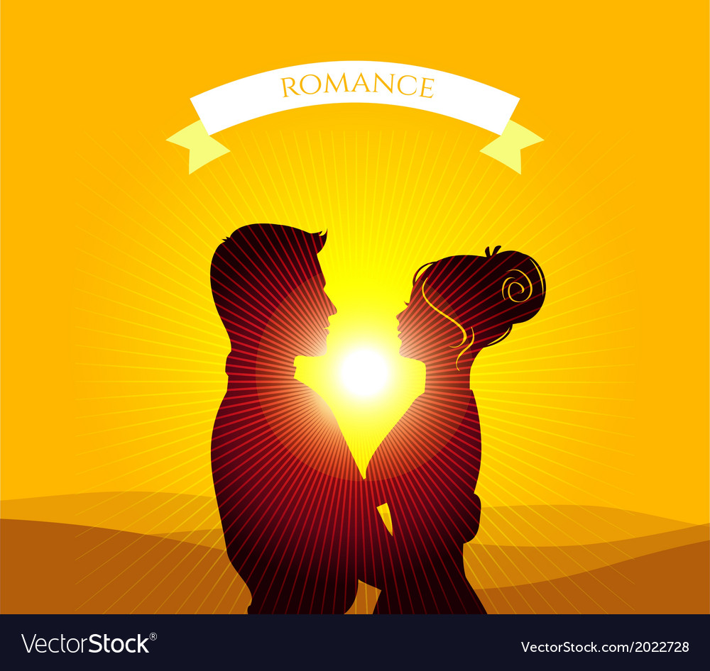 Kissing couple vector | Price: 1 Credit (USD $1)