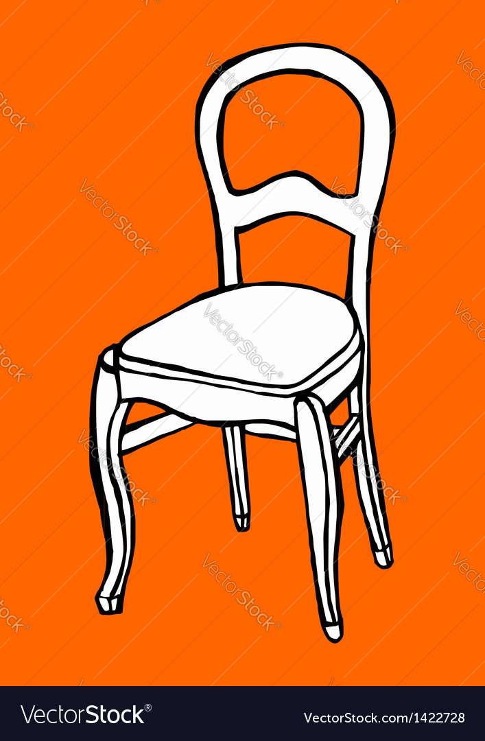 Objects collection chair vector | Price: 1 Credit (USD $1)