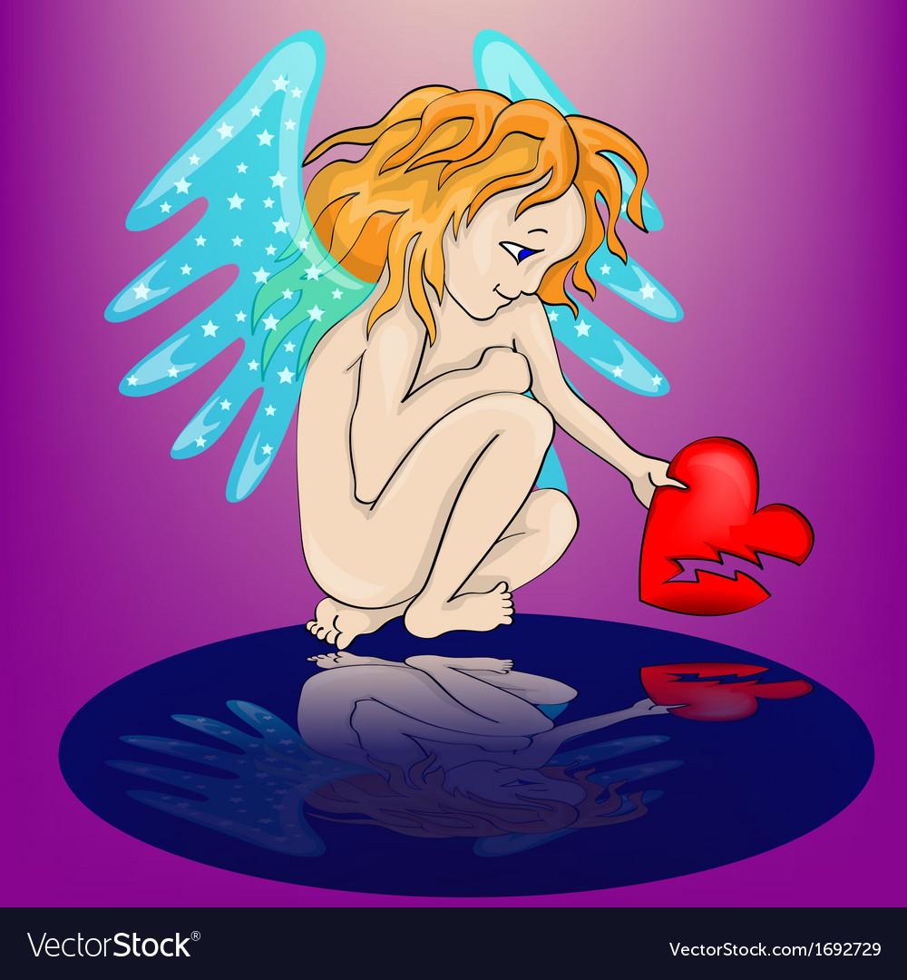 Angel cartoon vector   Price: 1 Credit (USD $1)