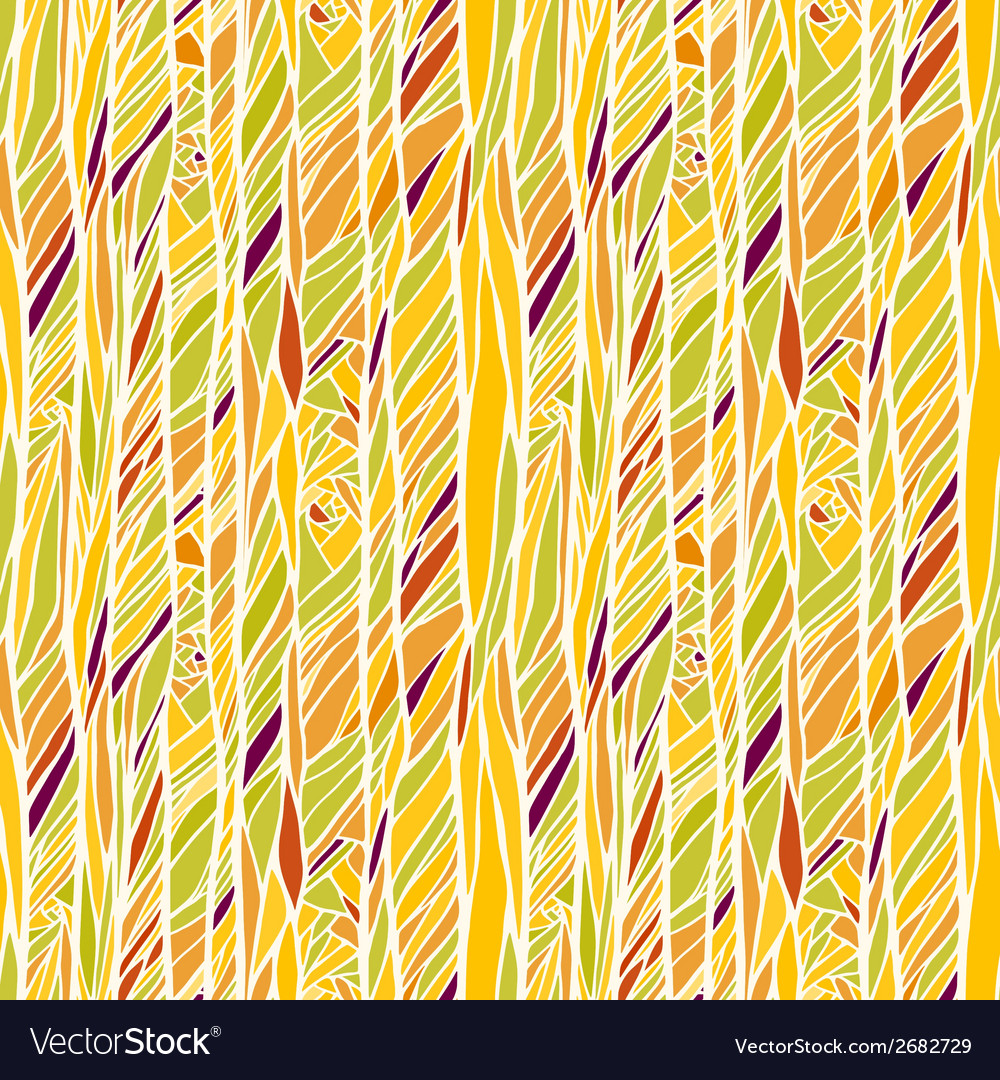 Seamless pattern with hand drawn abstract vector | Price: 1 Credit (USD $1)