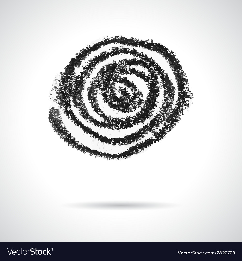 Swirl design element vector | Price: 1 Credit (USD $1)