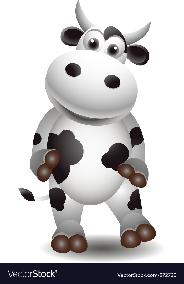 Cute cow vector | Price: 1 Credit (USD $1)
