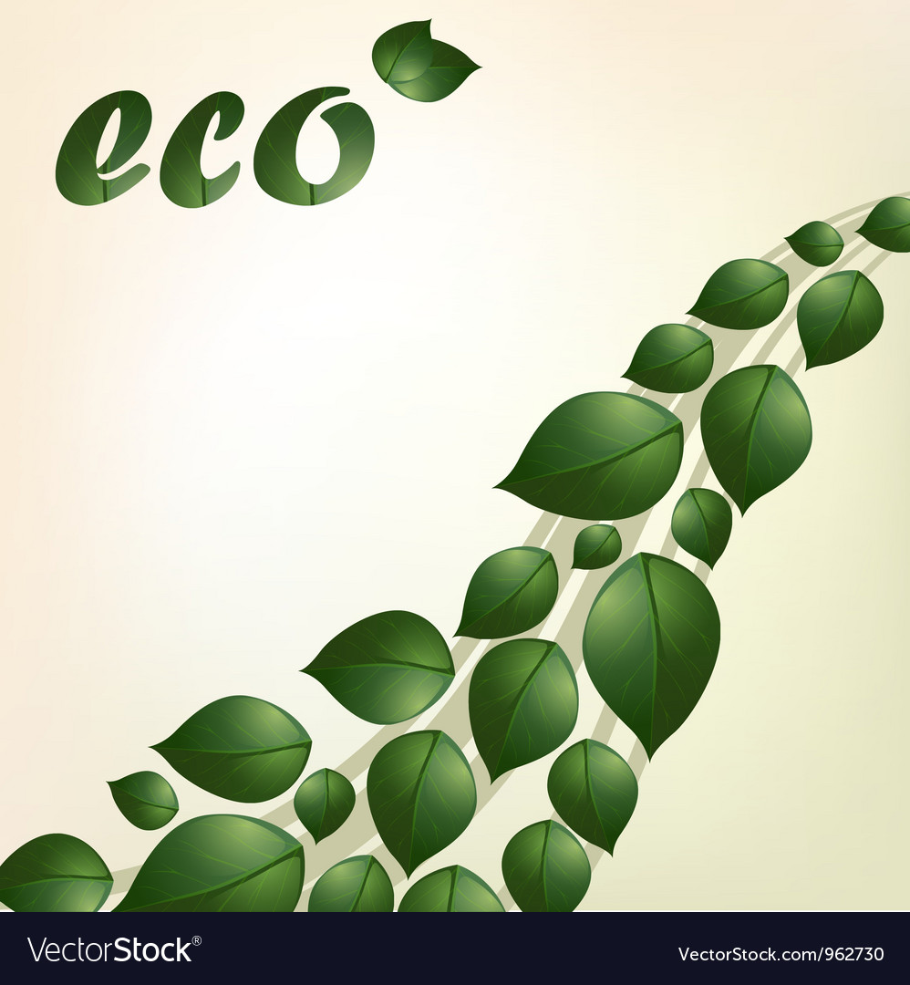 Eco background vector | Price: 1 Credit (USD $1)