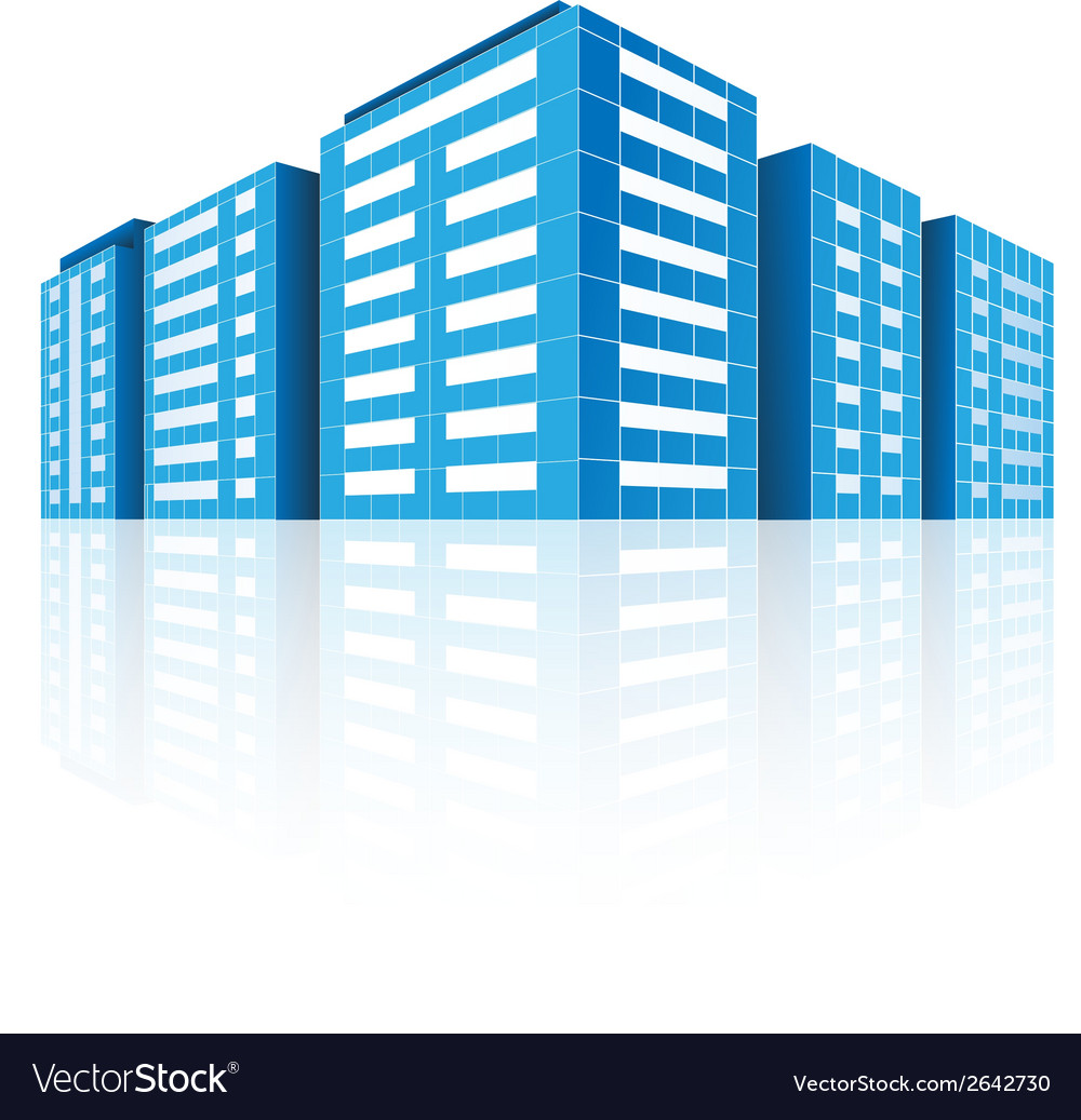 Icons of buildings vector   Price: 1 Credit (USD $1)