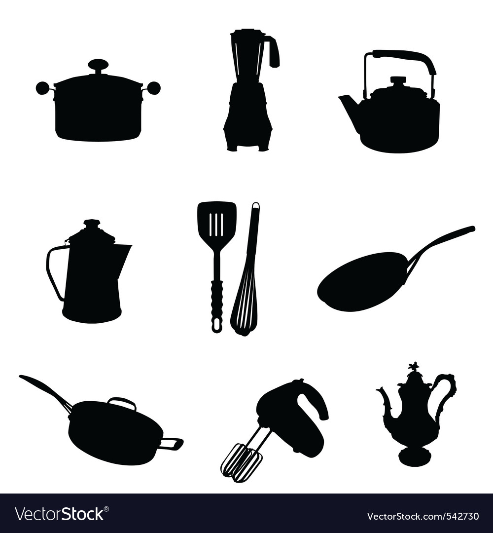 Kitchen utensil vector | Price: 1 Credit (USD $1)
