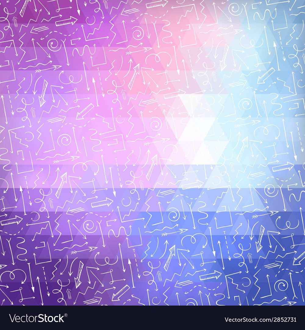 Bright abstract triangle background with white vector | Price: 1 Credit (USD $1)