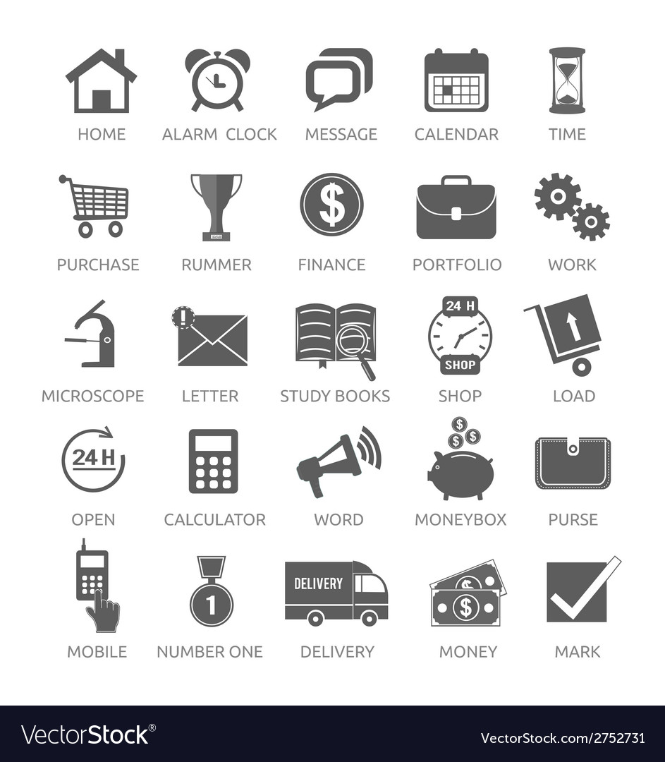 Icons for web and mobile applications vector | Price: 1 Credit (USD $1)