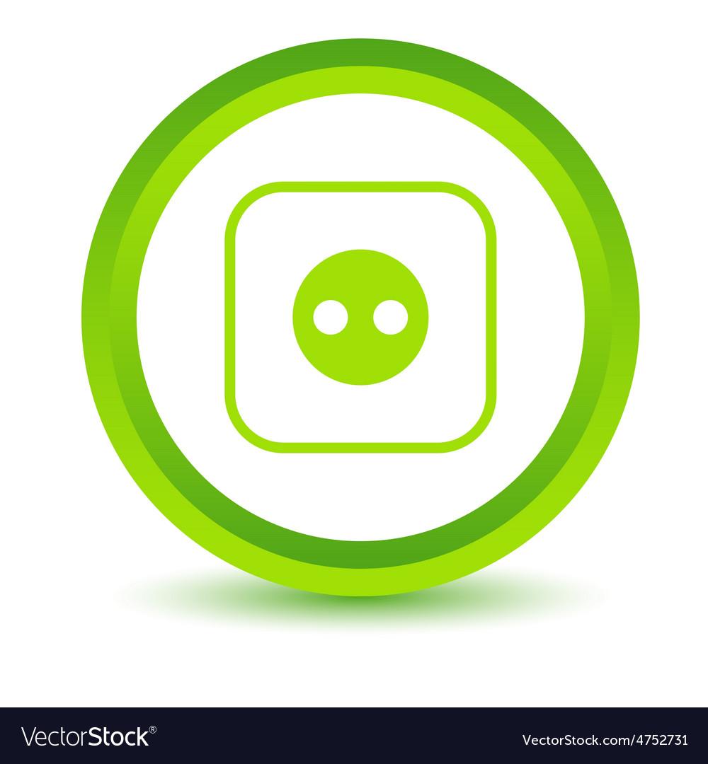Socket volumetric icon vector   Price: 1 Credit (USD $1)