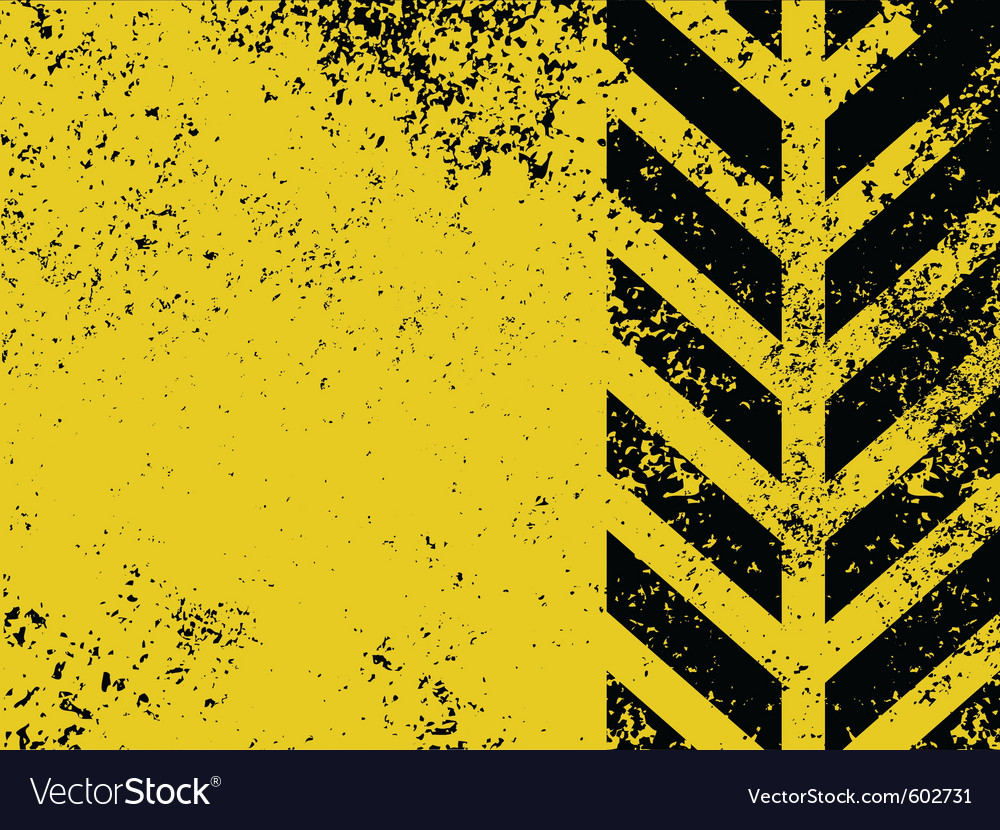 Worn hazard stripe vector | Price: 1 Credit (USD $1)