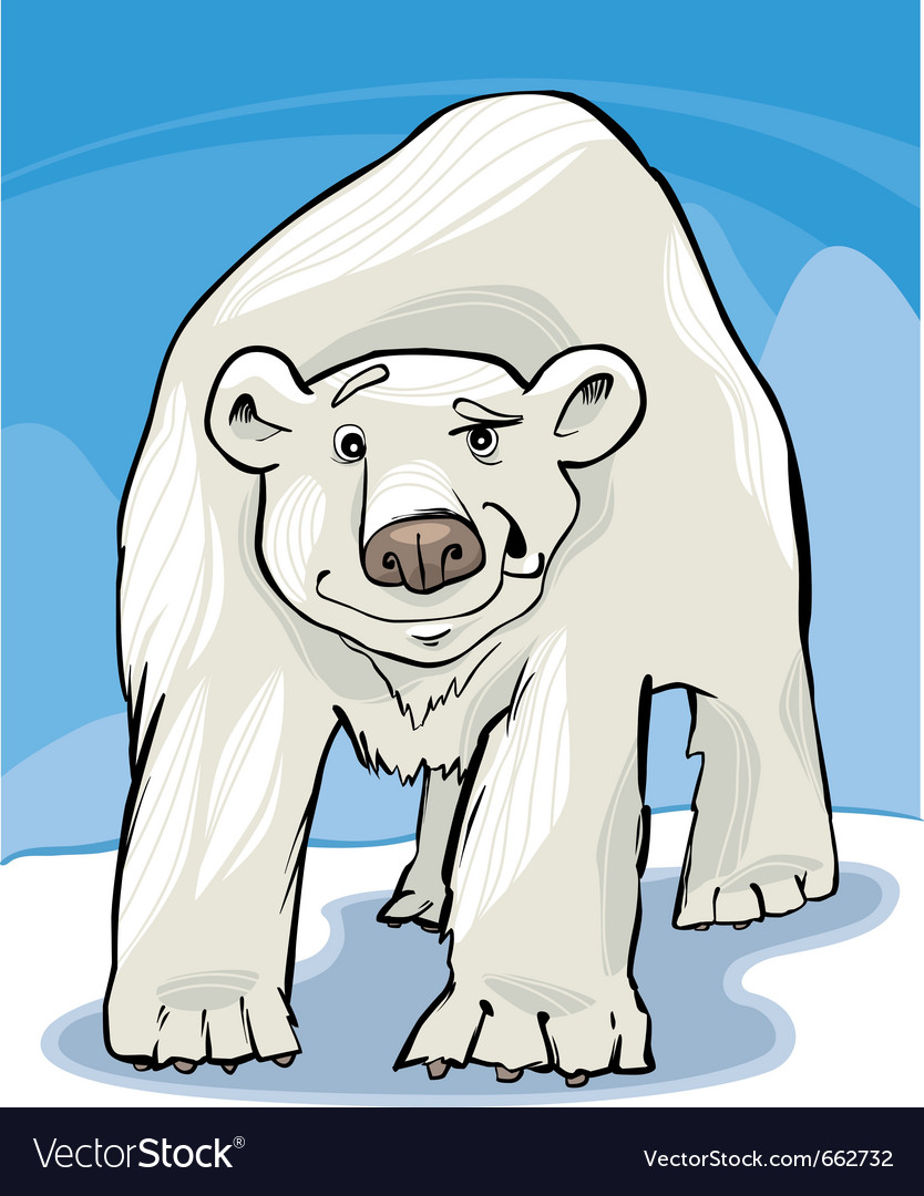 Polar bear vector   Price: 1 Credit (USD $1)
