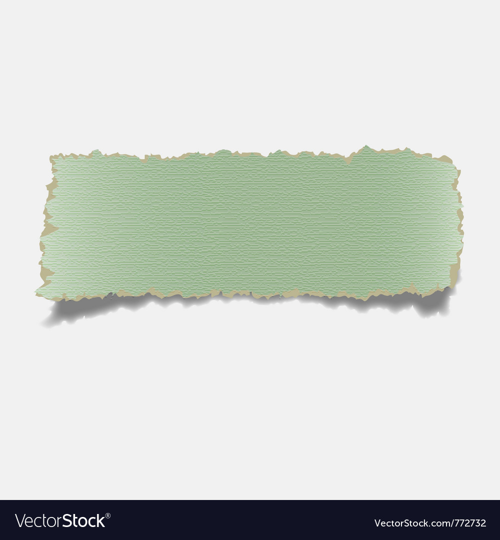 Realistic torn paper vector | Price: 1 Credit (USD $1)