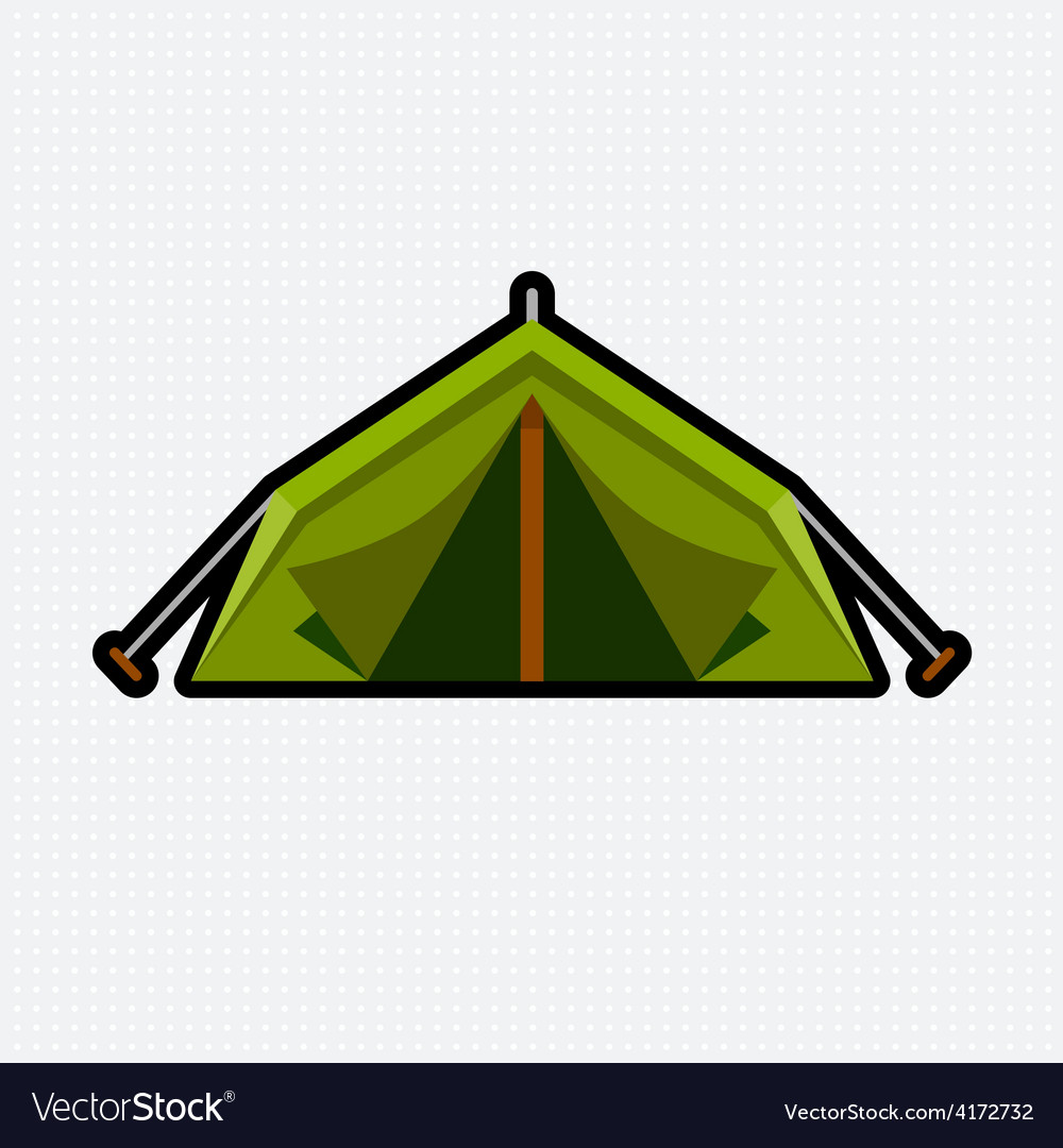 Tent graphic vector | Price: 1 Credit (USD $1)