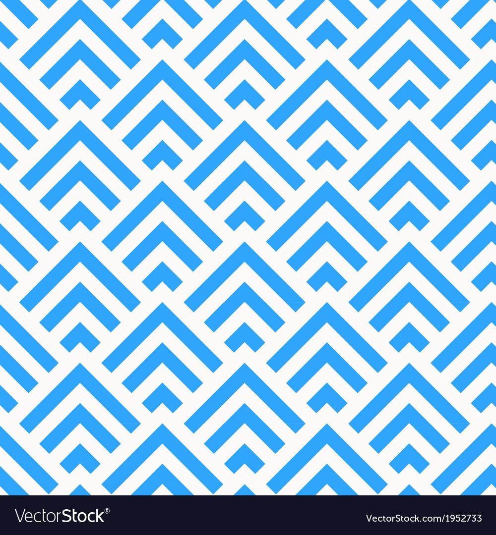 Abstract blue and white angle stripes pattern vector | Price: 1 Credit (USD $1)