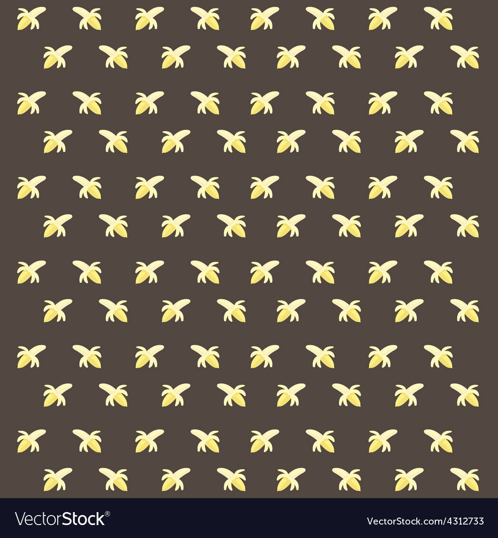 Banana pattern vector | Price: 1 Credit (USD $1)
