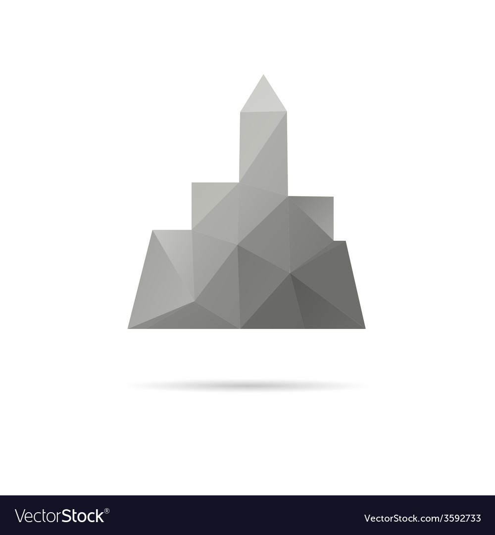 City icon isolated vector | Price: 1 Credit (USD $1)