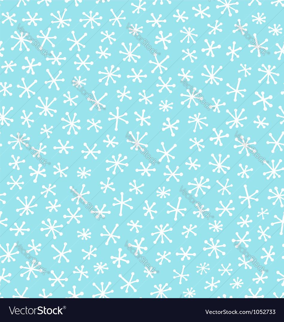 Snow pattern vector | Price: 1 Credit (USD $1)