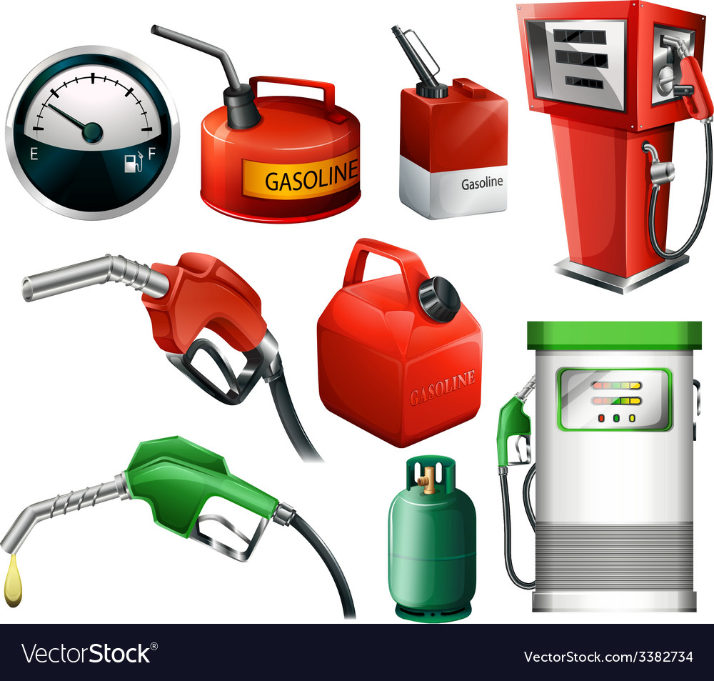 Fuel set vector | Price: 3 Credit (USD $3)