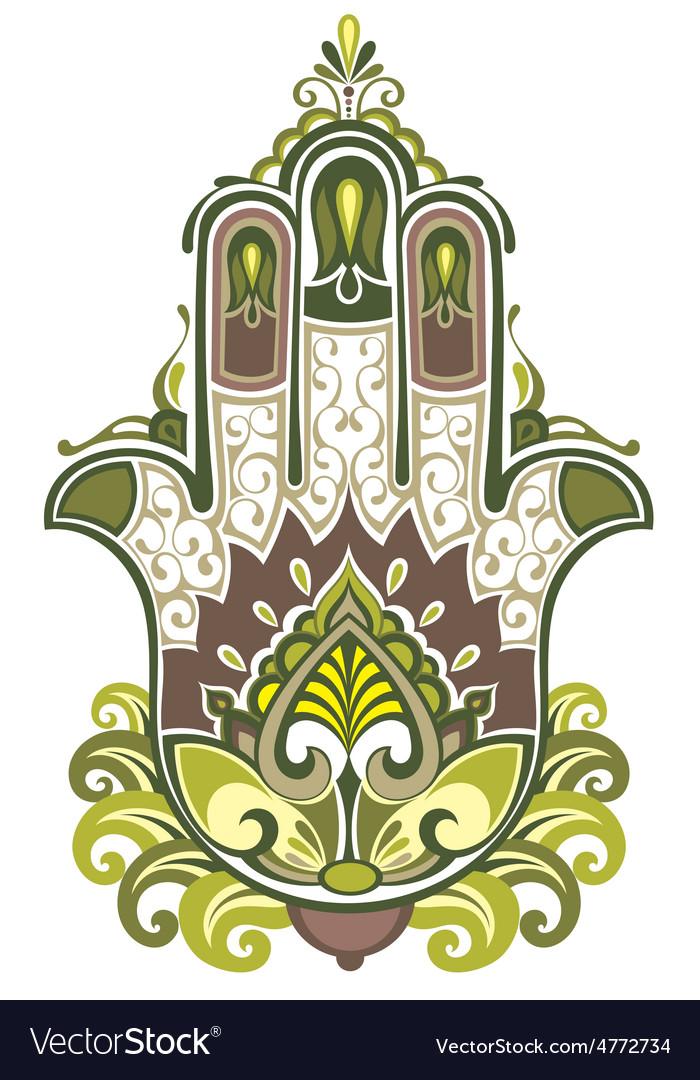 Hamsa symbol vector | Price: 1 Credit (USD $1)