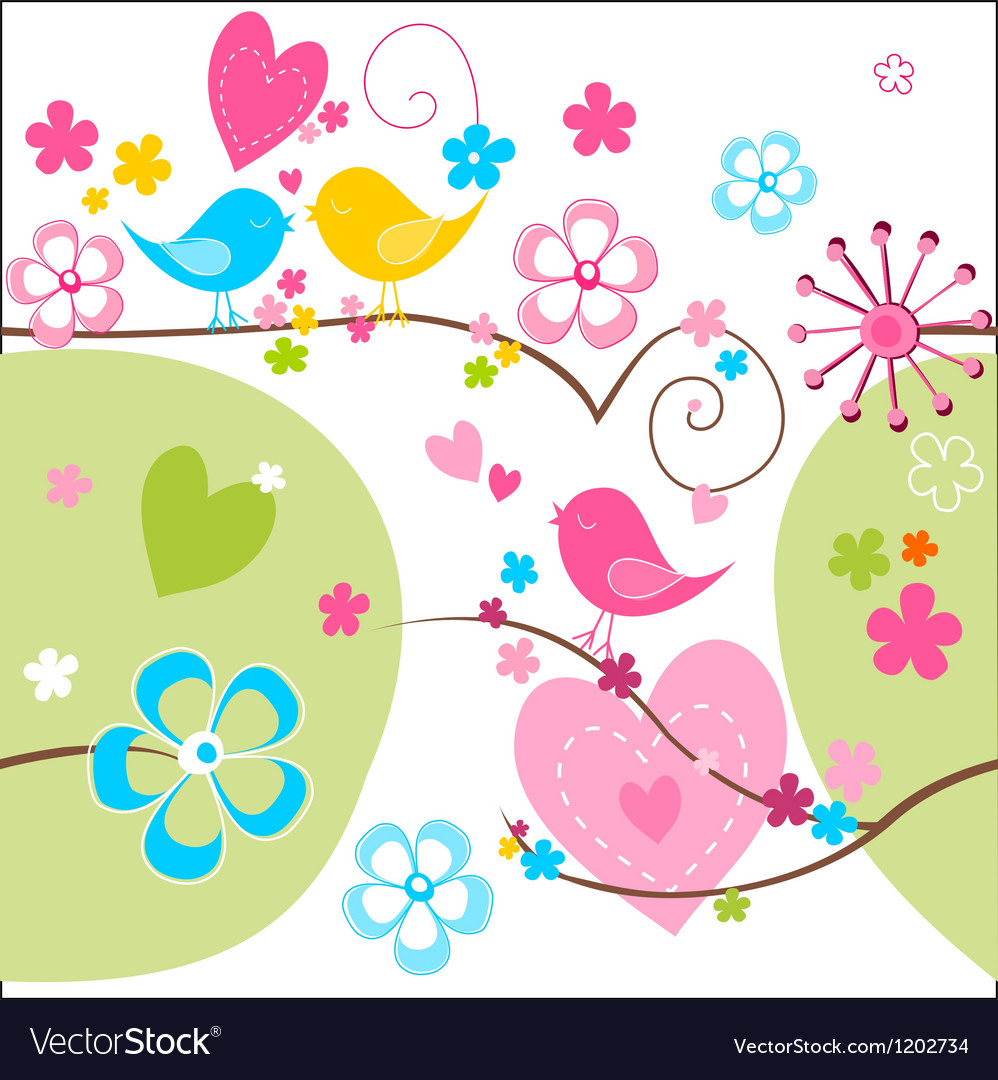 Whimsical seamless background vector | Price: 1 Credit (USD $1)