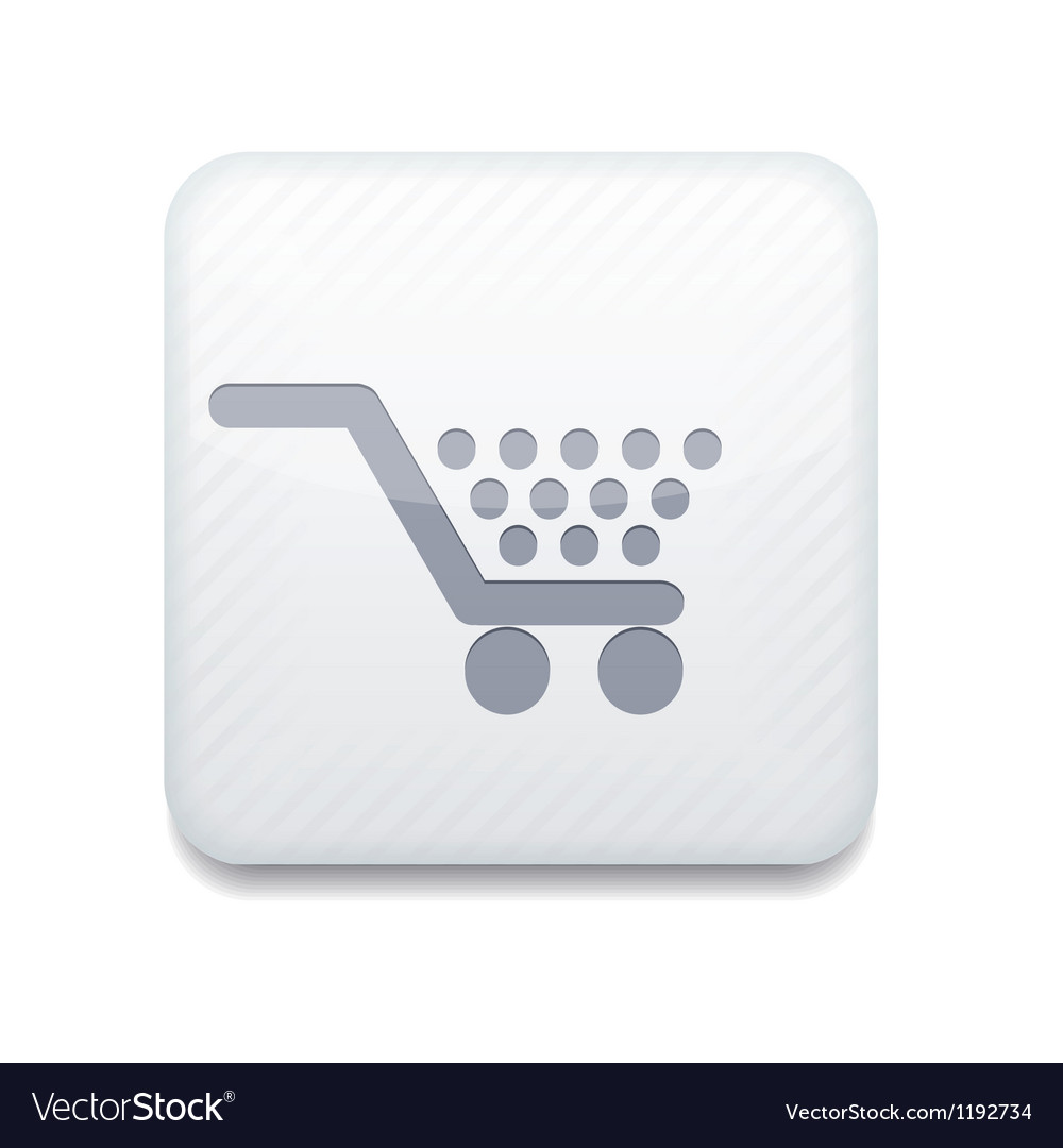 White shopping icon eps10 easy to edit vector | Price: 1 Credit (USD $1)