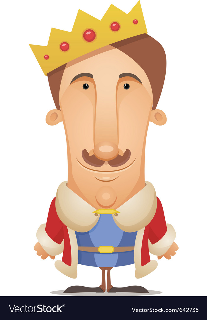 King vector | Price: 3 Credit (USD $3)