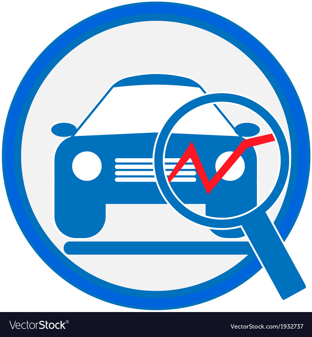 Automotive diagnostic repair icon vector | Price: 1 Credit (USD $1)