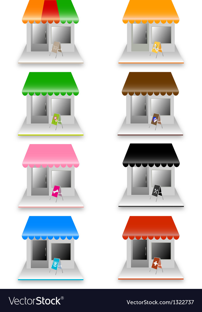 Colorful home vector | Price: 1 Credit (USD $1)
