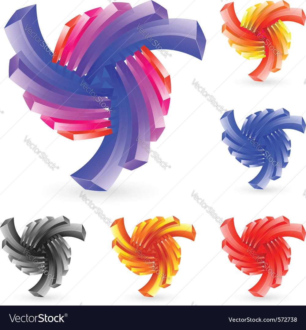 Abstract ornamental symbol vector | Price: 1 Credit (USD $1)