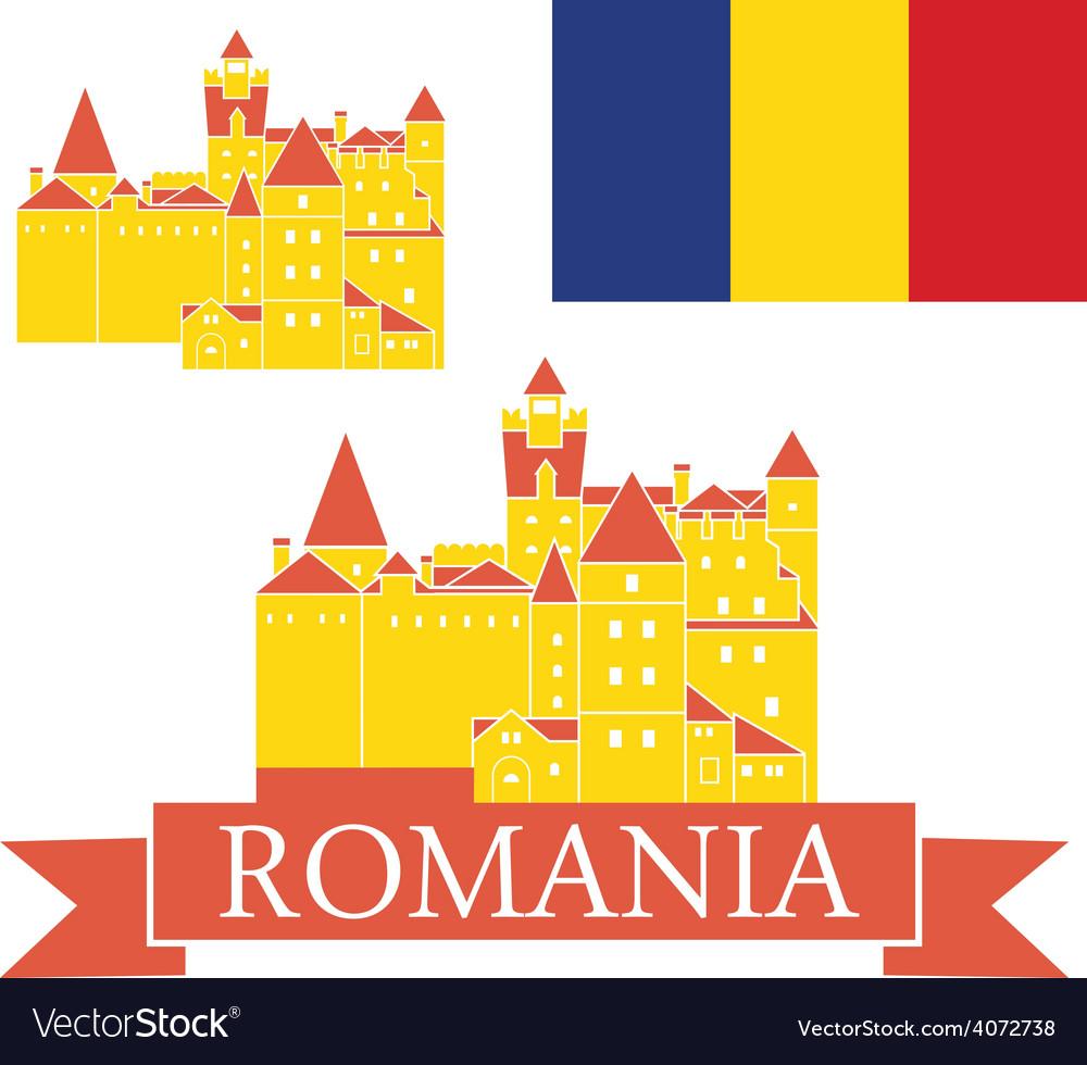 Romania vector | Price: 1 Credit (USD $1)