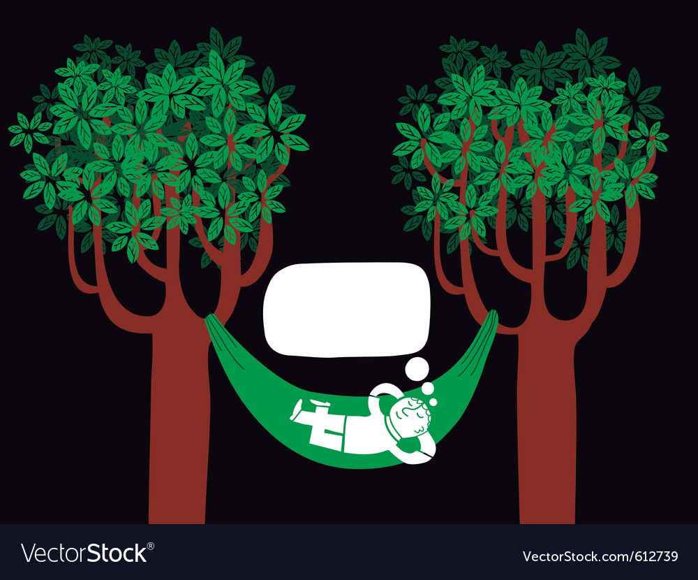 Nature dreaming vector | Price: 3 Credit (USD $3)