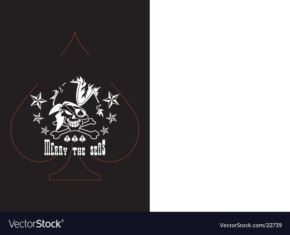 Pirate skull t-shirt logo vector   Price: 1 Credit (USD $1)