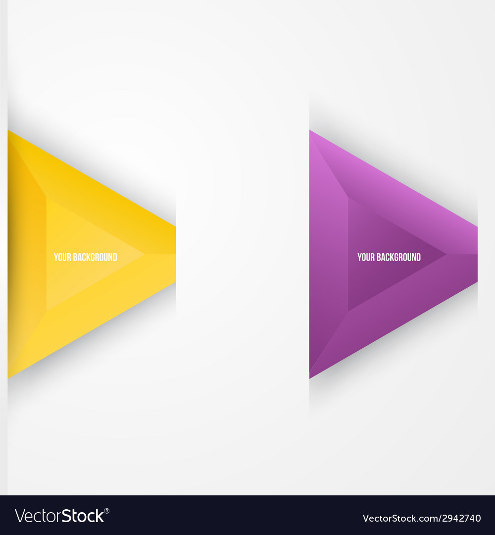 Abstract triangles background object web vector | Price: 1 Credit (USD $1)