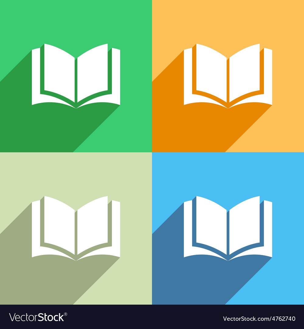 Book icon menu icon vector | Price: 1 Credit (USD $1)